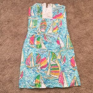 Lilly pulitzer rare original YGR Franco dress